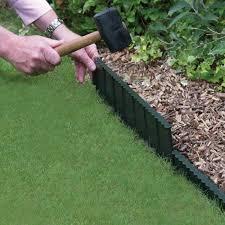 garden edger. Straight Plastic Lawn Edging Garden Edger