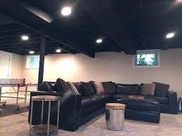 painted basement ceiling ideas. Painting Exposed Basement Ceiling Black Paint Charming Design Best . Painted Ideas