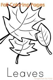 Coloring Pages For Kids Fall For Kids Fine Motor Fun With Fall