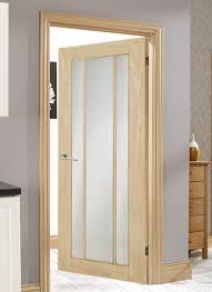 oak langdale frosted internal door frame