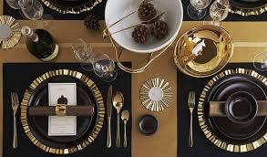 black and gold wedding decoration ideas