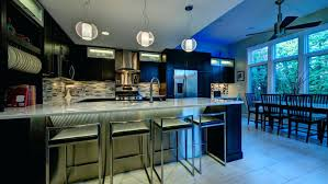 home lighting ideas. Home Lighting Ideas. Trends A Kitchen With Bar And Large Pendant Lights White Ideas