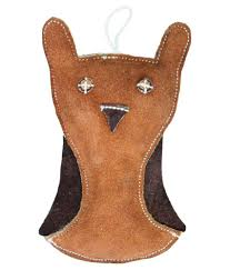 guts and glory leather cat face shaped dog toy chocolate tan guts and glory leather cat face shaped dog toy chocolate tan at low