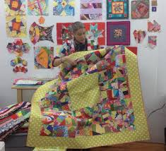 V Findlay Wolfe BLOG Great idea for scraps! | Scrappy Scrap Quilts ... & I'm back from teaching two classes and a lecture, up at Jackie Kunkel's  (Canton Village Quilt works) classroom in CT. Adamdwight.com