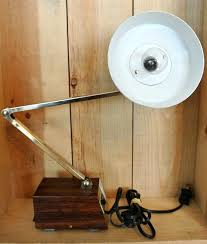 desk mid century desk lamp vintage tensor lamp retro office lamp brown desk lamp hinged