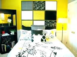 yellow bedroom ideas black white and excellent gray y