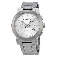 burberry silver dial chronograph stainless steel men s watch burberry silver dial chronograph stainless steel men s watch bu9350