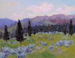 untitled landscape oil on linen 11x14
