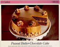8 per case at amazon.com. Recipe Peanut Butter Chocolate Cake With Peanut Butter Frosting Great American Home Baking Card 1990 S Recipelink Com