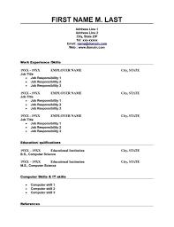 Job Resume Format Free Download Biodata Sample Of Download