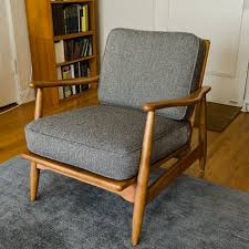 I need to make cushions like this for my chair... Mid Century ...