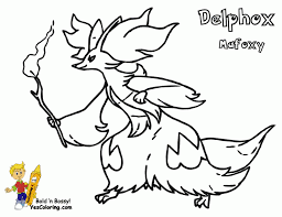 Small Picture Coloring Page Pokemon Pages Fire Type mosatt