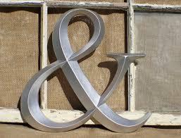 pleasant design ideas ampersand wall decor v sanctuary com 6 wonderful decoration pretentious metal