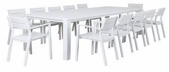stunning idea white outdoor dining table 4