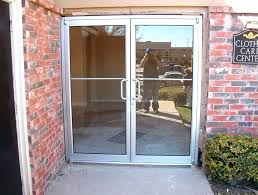 commercial exterior double doors. Double Front Doors With Glass Exterior Rectangle Transparent Steel Frame And . Commercial C