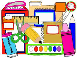 Image result for school supplies clip art