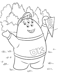 Small Picture Monsters University Squishy Coloring Page Disney LOL