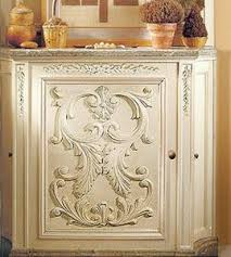 wood furniture appliques. modesto carved wood horizontal furniture onlay installed on the custom cabinet appliques