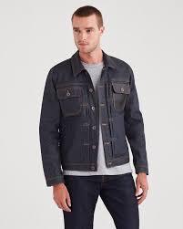 trucker jacket in deep wax
