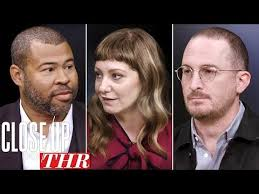 full writers roundtable jordan le darren aronofsky emily v gordon close up with thr you