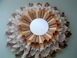 Small Picture 46 best wreaths with mirrors images on Pinterest Wreaths Crafts