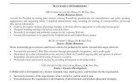 Intern Resume Examples An Application Letter For Job Sample Resume Information Internship 34