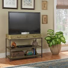 Sadie Industrial Rustic Media Console / Entryway table by iNSPIRE Q Classic  - Free Shipping Today - Overstock.com - 17106565
