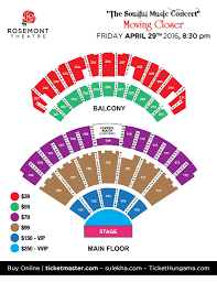 Joe S Live Rosemont Seating Chart Shafqet Amanat Ali Rekha Bhardwaj Live In Des Plaines Il