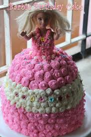 Barbie Birthday Cake Recipe How To Make A Barbie Doll Cake At Home