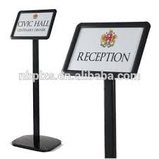 A3 Display Stands Inspiration Black Freestanding Clip Frame A322 Display Stands Sign Buy A322