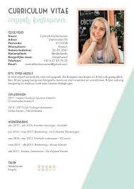 Curriculum Vitae Cennah Kortenoever