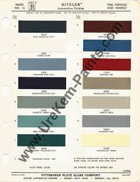 1966 Pontiac Gto Car Paint Colors Urekem Paints