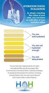 Hydration Color Chart