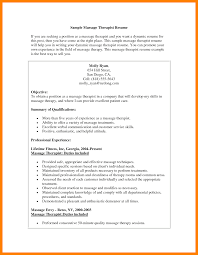 8 Massage Therapy Resume Mla Cover Page
