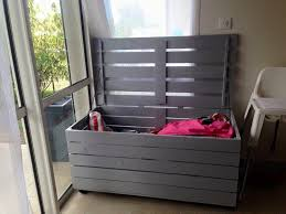furniture made of pallets. Storage Chest Made Pallets Pallet Furniture Diy Of