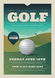 Golf Tournament Flyer Template Golf Club Event Flyer Template Download Premium Flyer