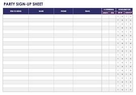 volunteer sign up sheet templates sigh up sheet magdalene project org