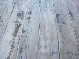 Wood Looking Paint Thrifty And Chic Diy Projects And Home Decor