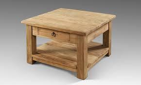 Tischfabrik24 Altes Holz Salon Couchtisch Mit Schublade