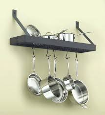 wall mount pot rack wall mount pot rack by in racks throughout decorations 6