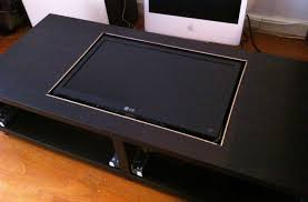 Diy Coffee Table Disguise Your Gaming Addiction With This Diy Coffee Table Arcade