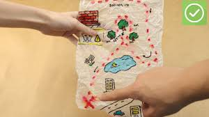 Design A Treasure Map Activity How To Make A Treasure Map 11 Steps With Pictures Wikihow