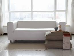 attractive white leather sofa ikea with ultimate ikea klippan loveseat sofa review