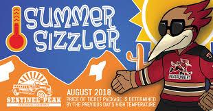sentinel peak summer sizzler plan on now