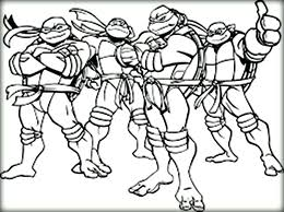 ninja turtles coloring pages. Modren Coloring Ninja Turtle Color Pages Cartoon Turtles Gang Coloring  Christmas And