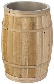 barrel size lined bulk food barrel natural cedar wood
