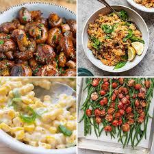 48 tasty vegan side dish recipes for