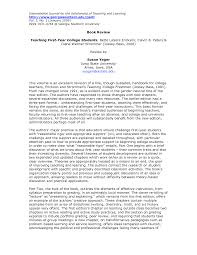 Sample College Book Report Format
