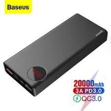 Brand Name: <b>BASEUS</b> Battery Type: Li-polymer Battery Features