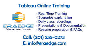 Tableau Resume Tableau Online Training Demo Video EraEdge YouTube 57